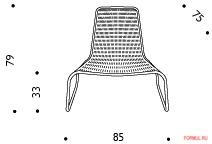 Кресло Driade Flo