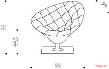 Кресло Driade Moor 1
