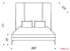 Кровать Driade Royalton