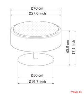 Пуф Modoluce art. 00444/LTP