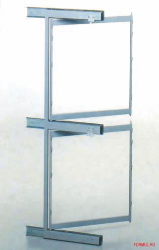 Аксессуар Аметист-СК Система для хранения обуви с креплением к фасаду