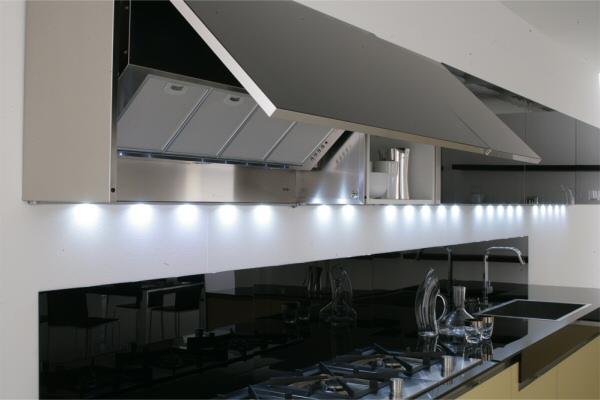 встроенные вытяжки для кухни фото