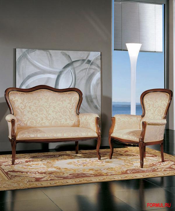 Кресло Seven Sedie Art.0217P
