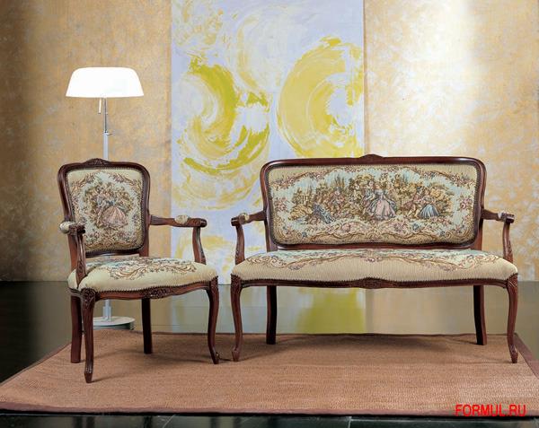 Кресло Seven Sedie Art.0243P