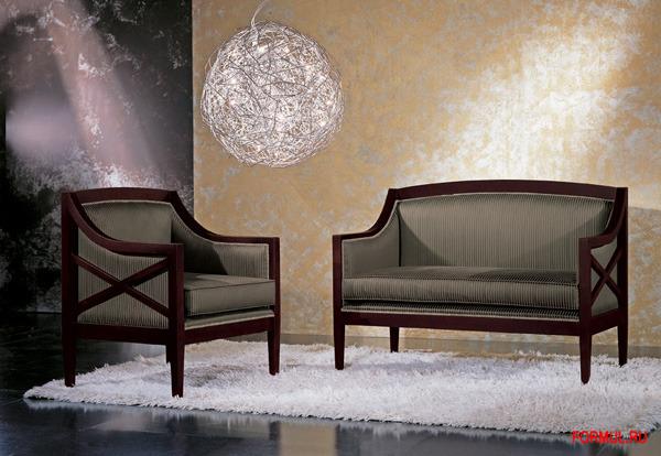 Кресло Seven Sedie Art.9185P