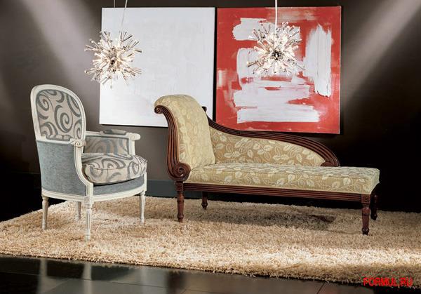 Кресло Seven Sedie Art.9248P