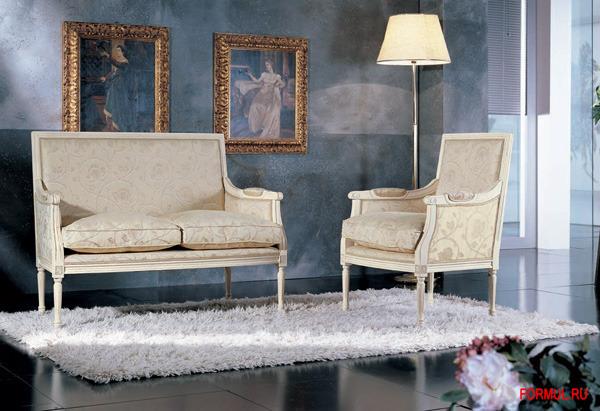 Кресло Seven Sedie Art.9276P