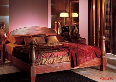 Кровать De Baggis L.0430 (L.0430/KS, L.0430/SC)