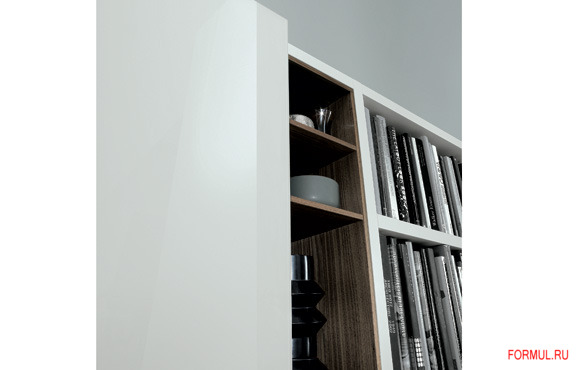 Книжный шкаф Poliform Wall System 10