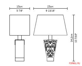 Лампа Fabbian Vicky A D69