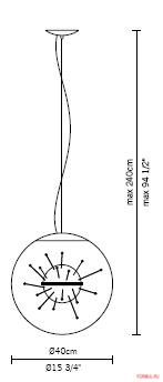 Светильник Fabbian Link D30