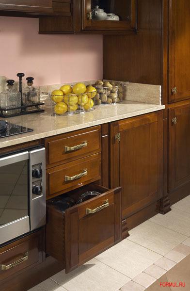 Кухня Zilio Iris Noce