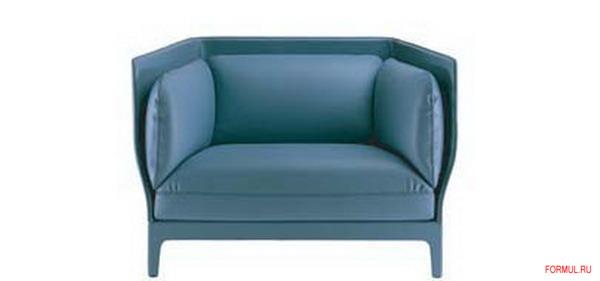Диван и кресло Poltrona Frau Alone