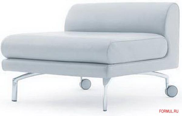 Диван и кресло Poltrona Frau Eos