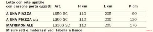 Кровать Pellegatta Letto-2