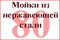 Коллекция Врезные нержав. сталь 80