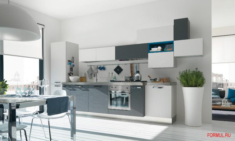 Глянцевой дизайн кухонь