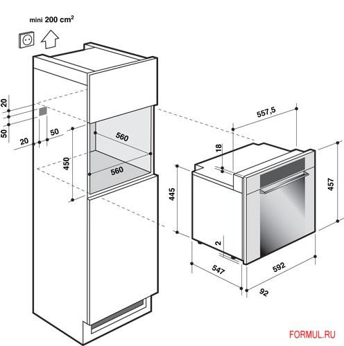 Шкаф для духового шкафа своими руками
