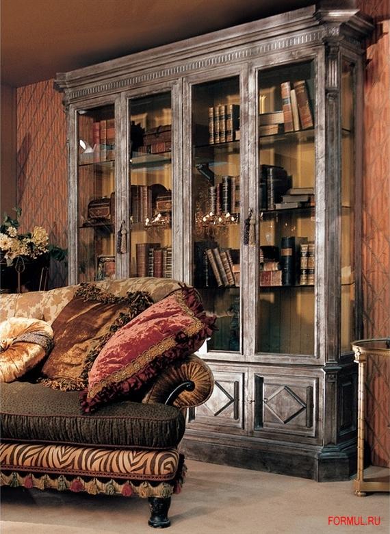 Библиотека 0550/4 provasi - стеллажи - гостиная - купить ита.