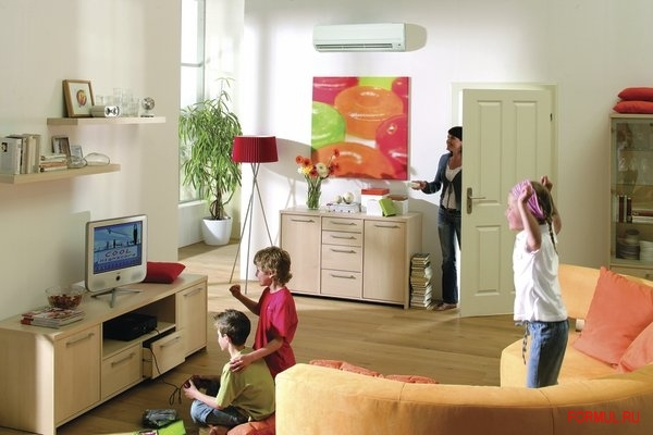 Выбор оптимальной модели кондиционера в спальную или гостиную комнату в квартире. Краткое описание моделей настенных сплит-систе