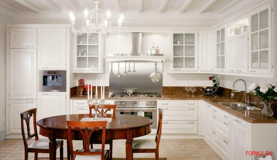 Кухня Le Cucine Dei Mastri Granducato White | Купить Мебель для ...