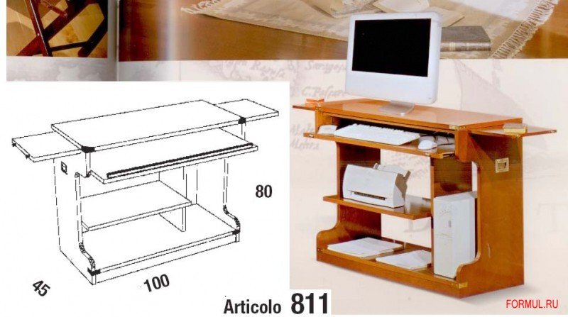 Компьютерный стол art 811