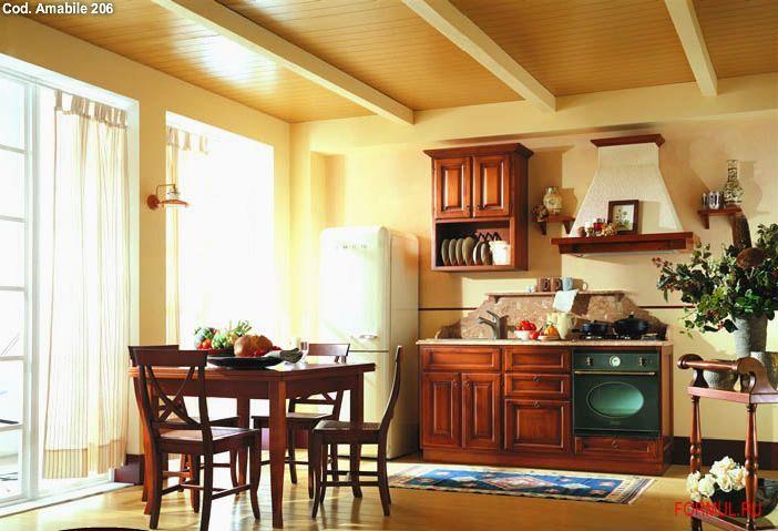 Кухни Кухня Tiferno Mobil Amabile 206 Италия.  Коллекция.