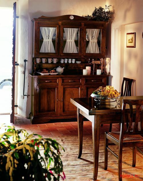 Кухня Parlani Sedia con seduta in paglia 5379